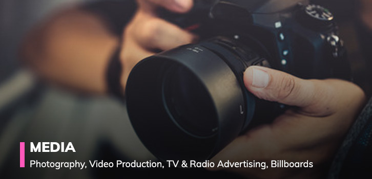 photography video production media advertising