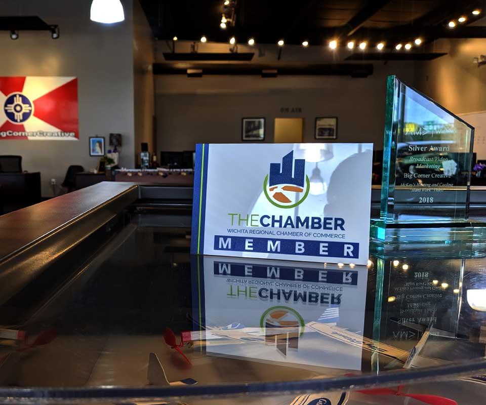 chamber member sign