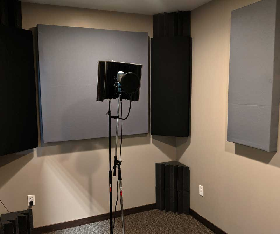 sound recording room