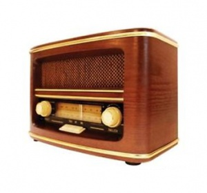 old fashion radio
